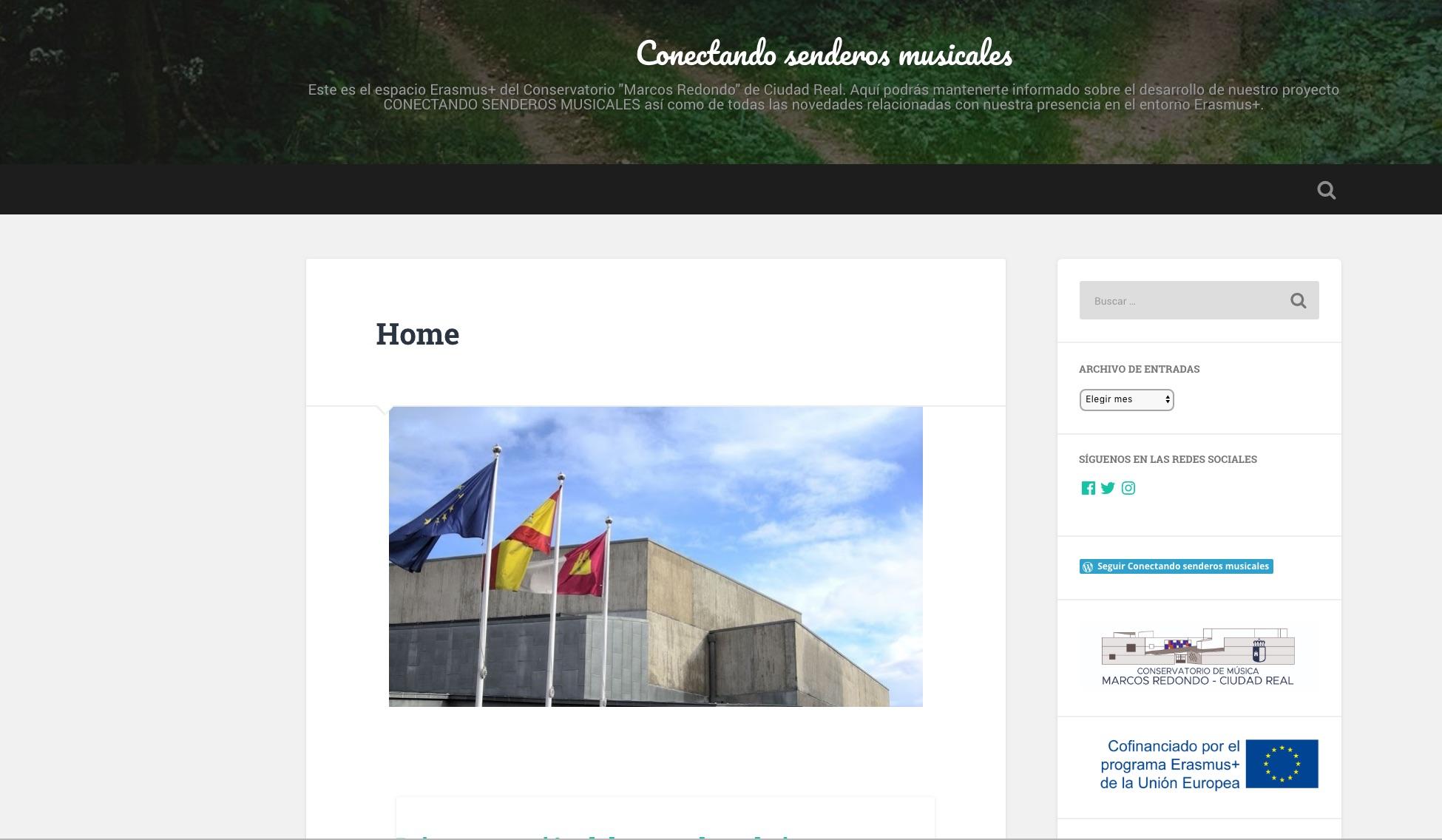 Nuevo Blog Erasmus +