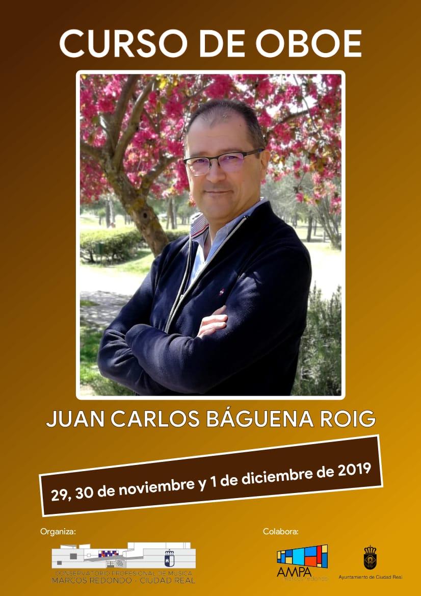 Curso de Oboe con Juan Carlos Báguena Roig