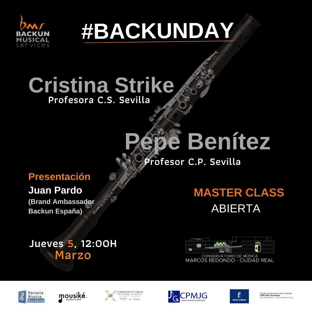 """#BackunDay: Presentación y exposición de clarinetes y accesorios """"Backun"""""""