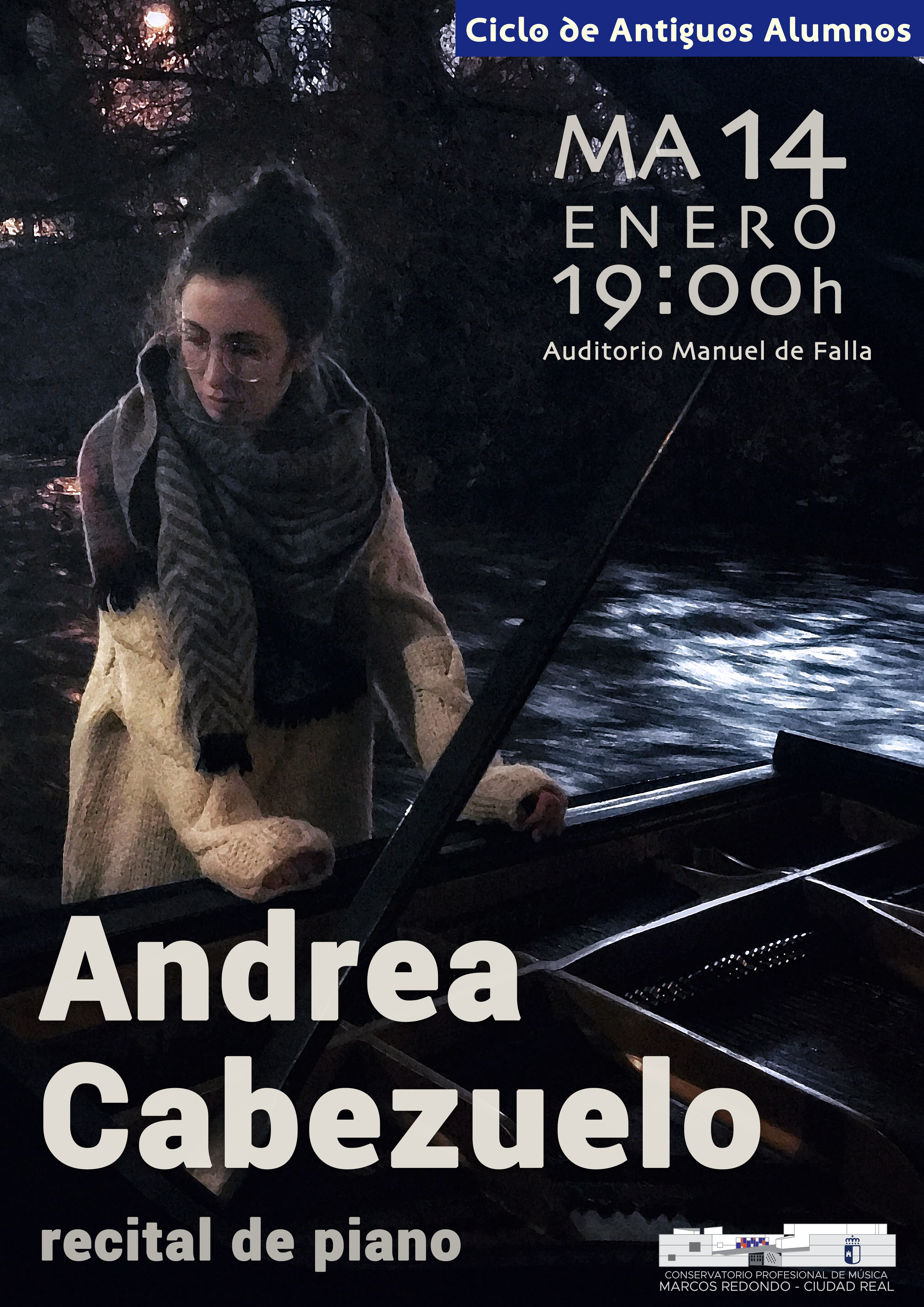 Recital de Piano a cargo de Andrea Cabezuelo Rodríguez
