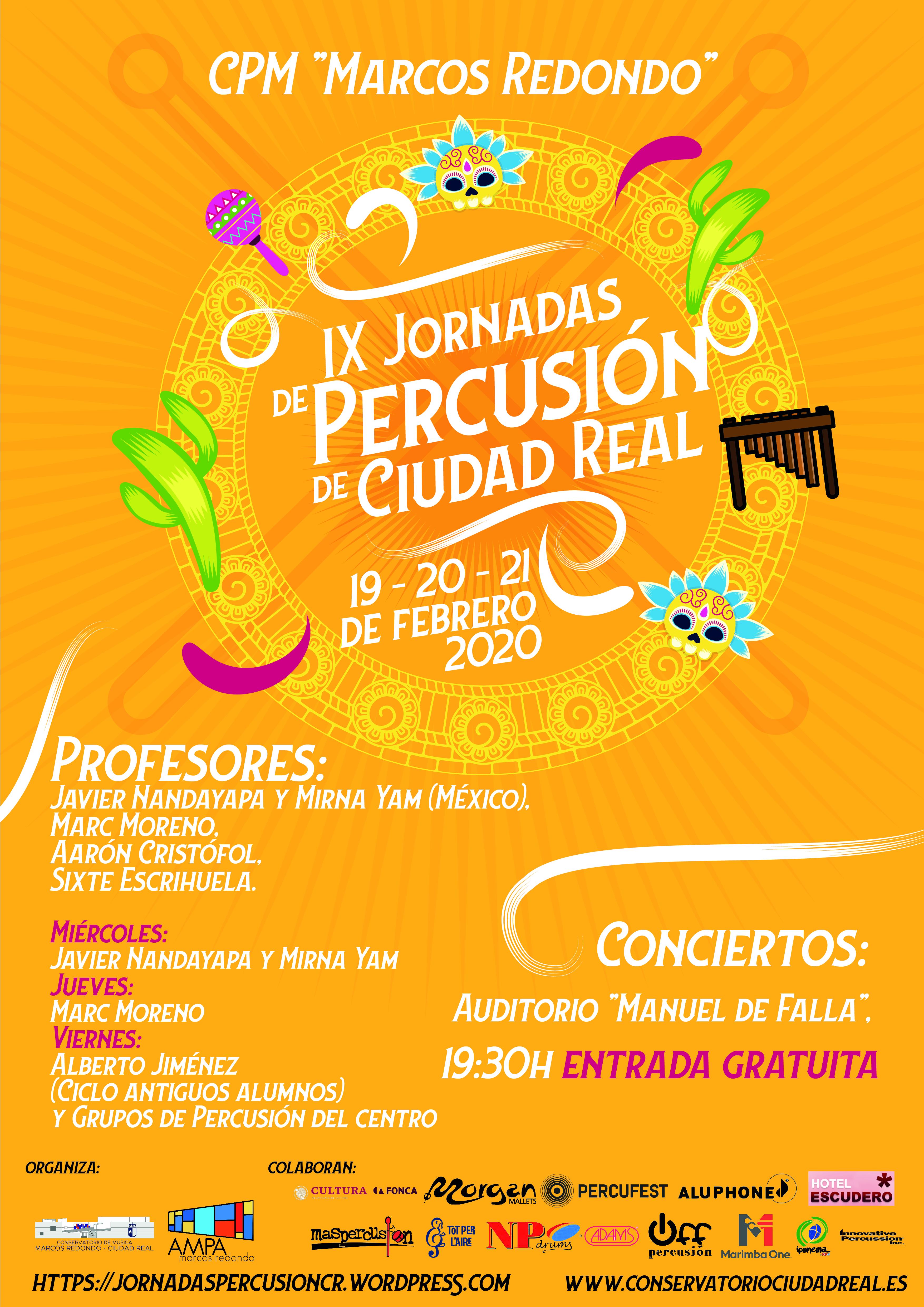 IX Jornadas de Percusión