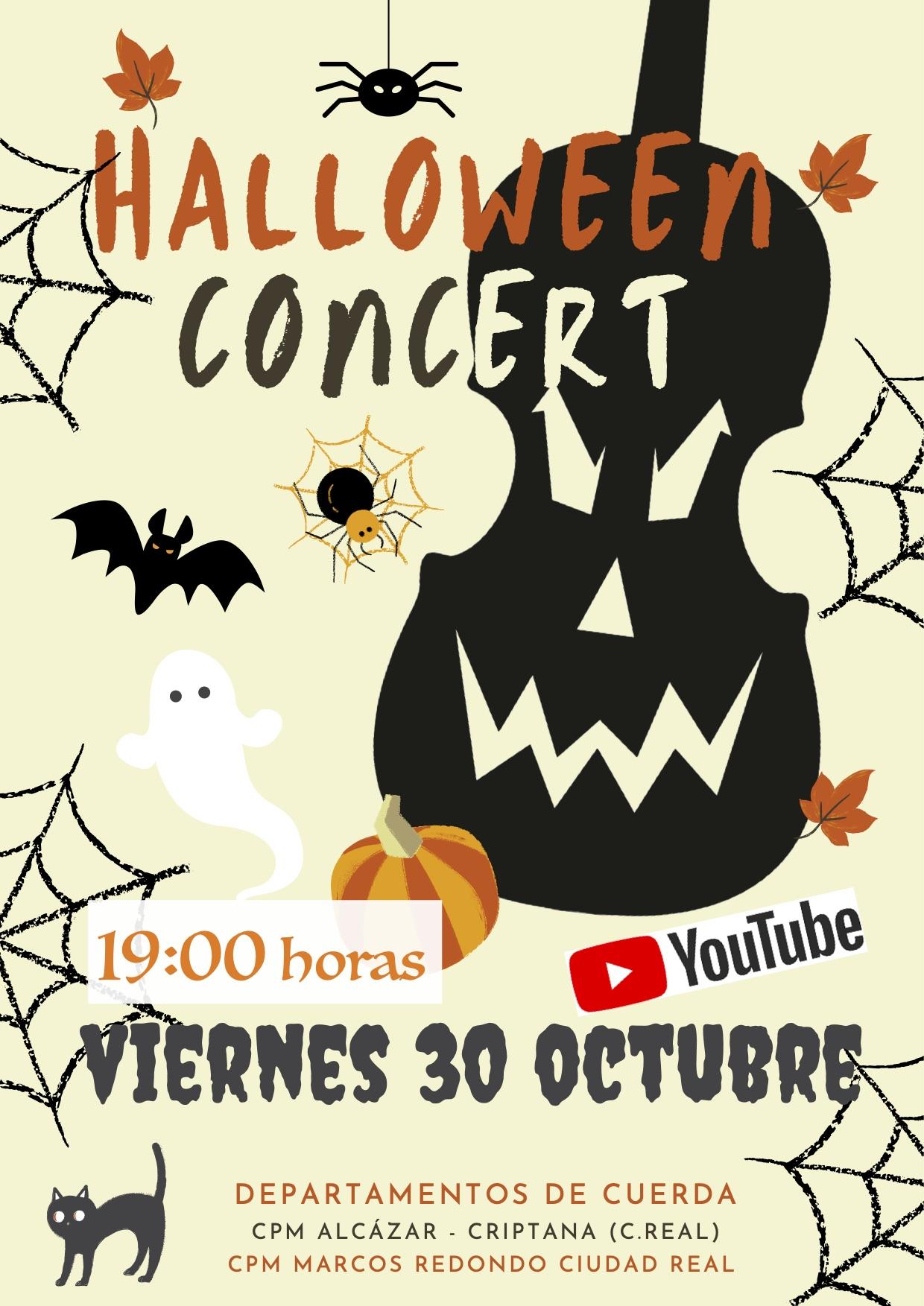 Concierto ONLINE de Halloween